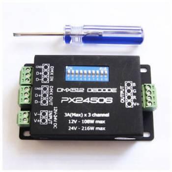 DMX RGB DECODER FRONT